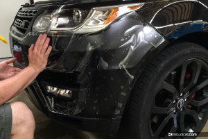 Range Rover Clear Bra - KI Studios