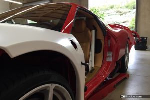 Ferrari 458 Spider Vinyl Wrapped Panels
