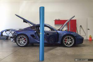 Wrap vs Paint - Wrap Process Porsche Cayman S - KI Studios