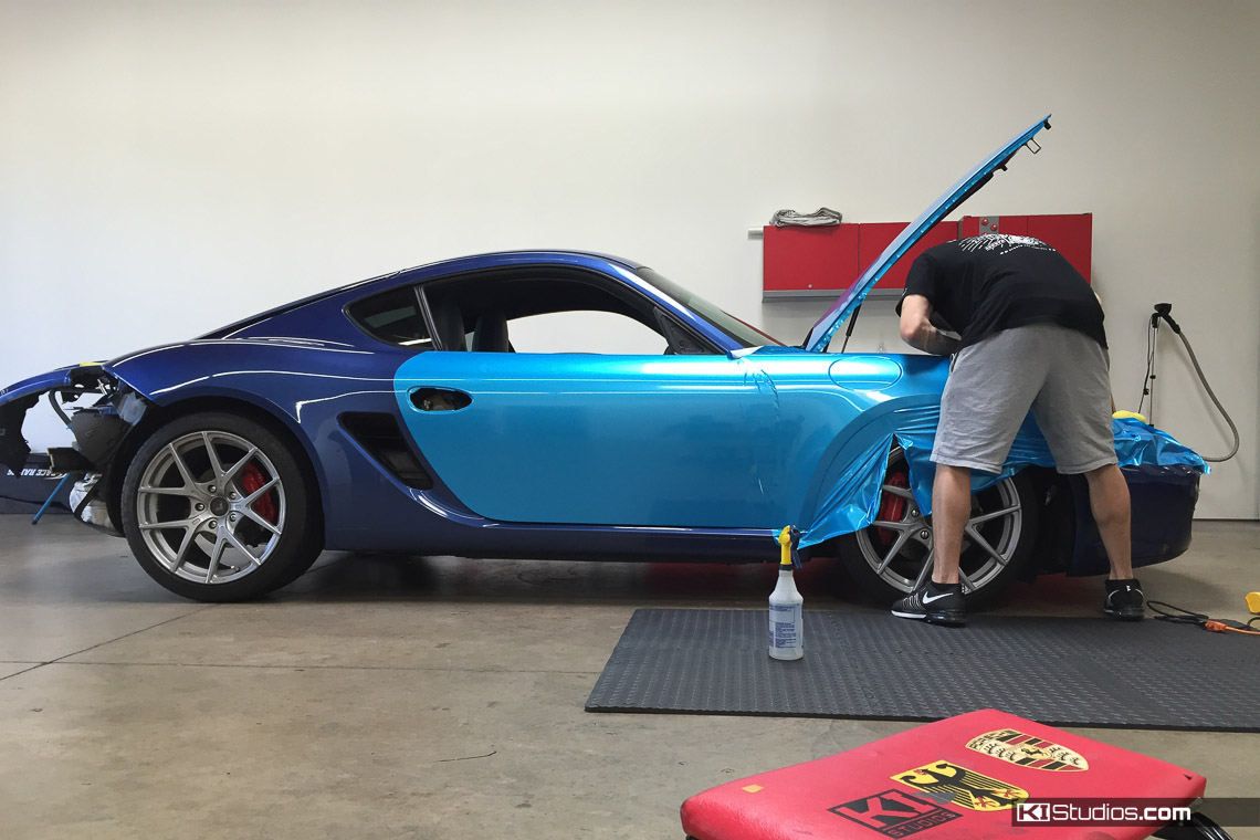 When To Wrap And When To Paint Your Car