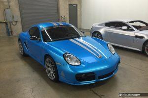 Wrap Complete - Porsche Cayman s by KI Studios