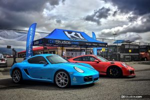 California Festival of Speed KI Studios Car Wraps Tent