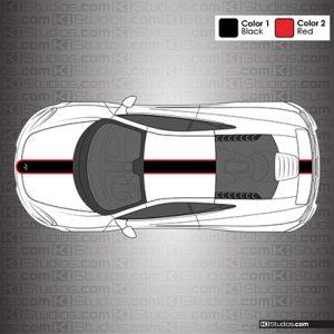 McLaren 650S Stripe Kit 001