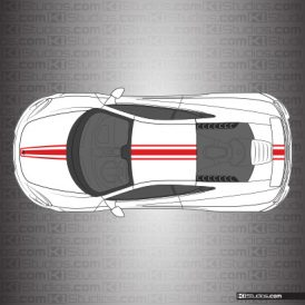 McLaren 650S Stripe Kit 002