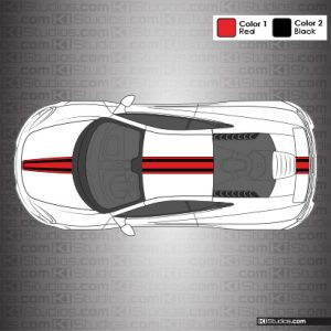 McLaren 650S Stripe Kit 003