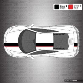 McLaren 650S Stripe Kit 005