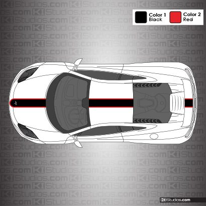 McLaren MP4-12C Stripe Kit 001