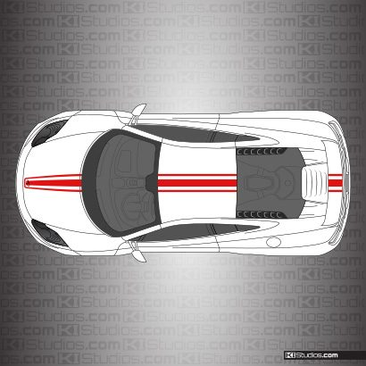 McLaren MP4-12C Stripe Kit 002