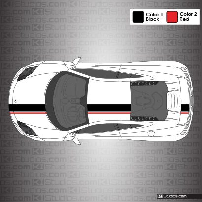 McLaren MP4-12C Stripe Kit 005