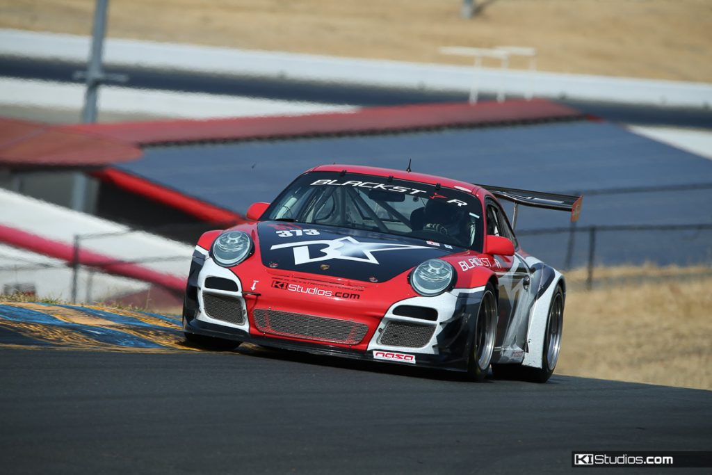 Blackstar Porsche 911 GT3 Cup Car - NASA