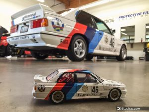 BMW E30 M3 Historic Race Car Replica by KI Studios