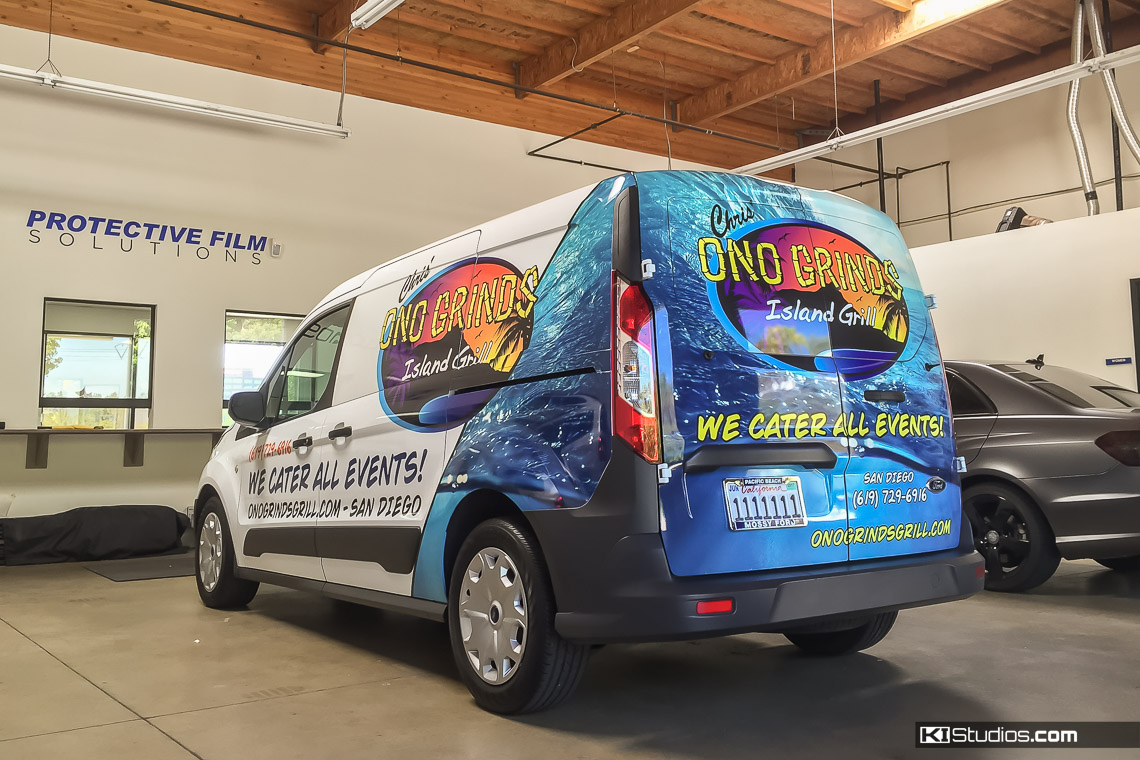 Commercial wraps to promote your business ki studios catering company vehicle wrap aloadofball Image collections