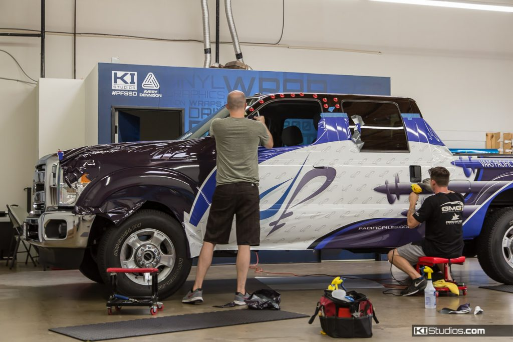 Commercial Wraps Process - Pickup Truck