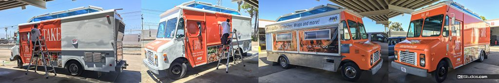 Food Truck Commercial Wraps by KI Studios