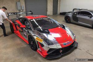 Lamborghini Gallardo Super Trofeo Color Change - Before Shot