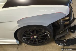 Lamborghini Gallardo Super Trofeo Color Change Racing Damage