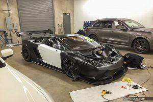 Lamborghini Gallardo Super Trofeo Color Change from White