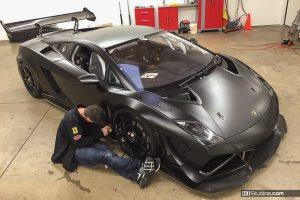 Lamborghini Gallardo Super Trofeo Color Change Almost Complete