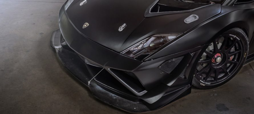 Lamborghini Gallardo Super Trofeo Black Wrap by KI Studios