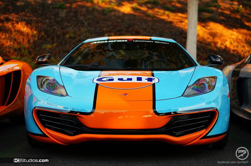 McLaren 12C Gulf Gasoline