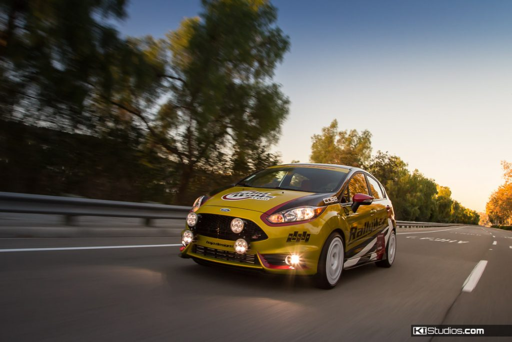 RallyWays #RallyFist Ford Fiesta ST Racing Livery