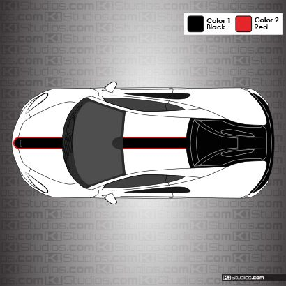 McLaren 570S Stripe Kit 001