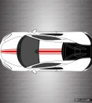 McLaren 570S Stripe Kit 002