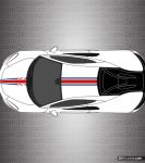 McLaren 570S Stripe Kit 004