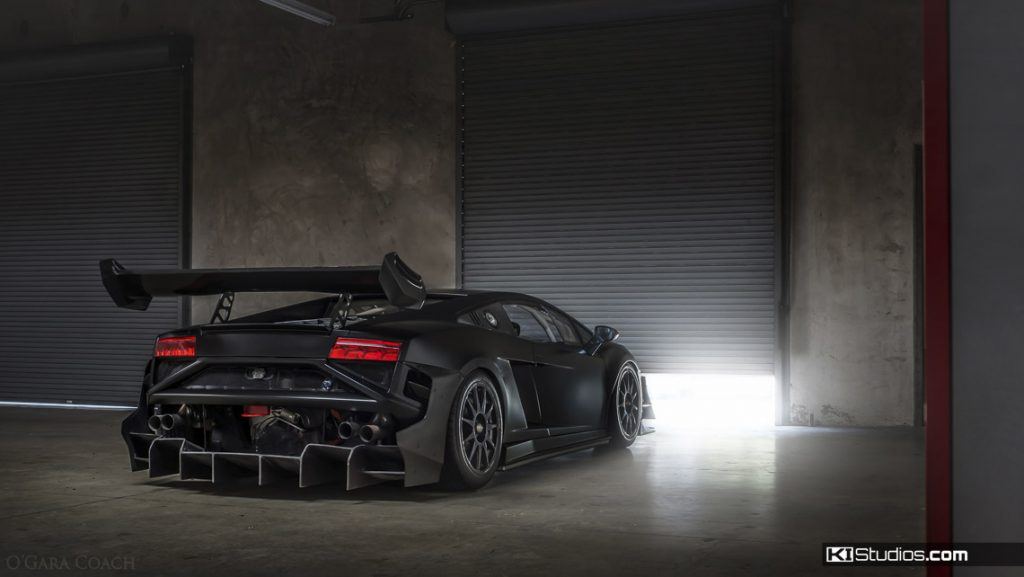Lamborghini Wraps Race Car - Super Trofeo