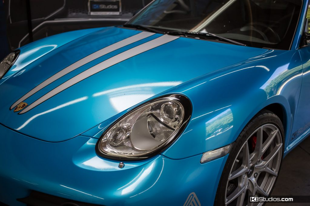 Porsche Headlight Trim Blackout Kit