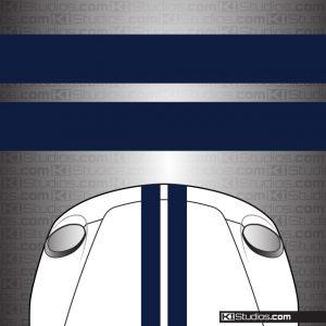 Dual Over the Top Stripes - KI Studios