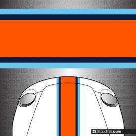 Gulf Style Universal Car Stripes - KI Studios
