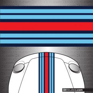 Martini Style KI Studios Universal Stripes