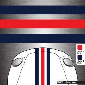 Triple Over the Top Stripes - KI Studios