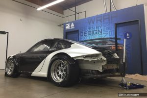 Porsche 911 GT3 Cup Car Wrap Process 2