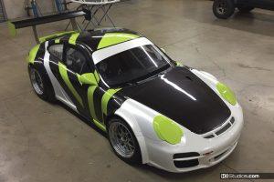 Wrap Process - Porsche 911 GT3 Cup Car