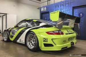 The Avery Dennison Porsche 911 GT3 Cup Car