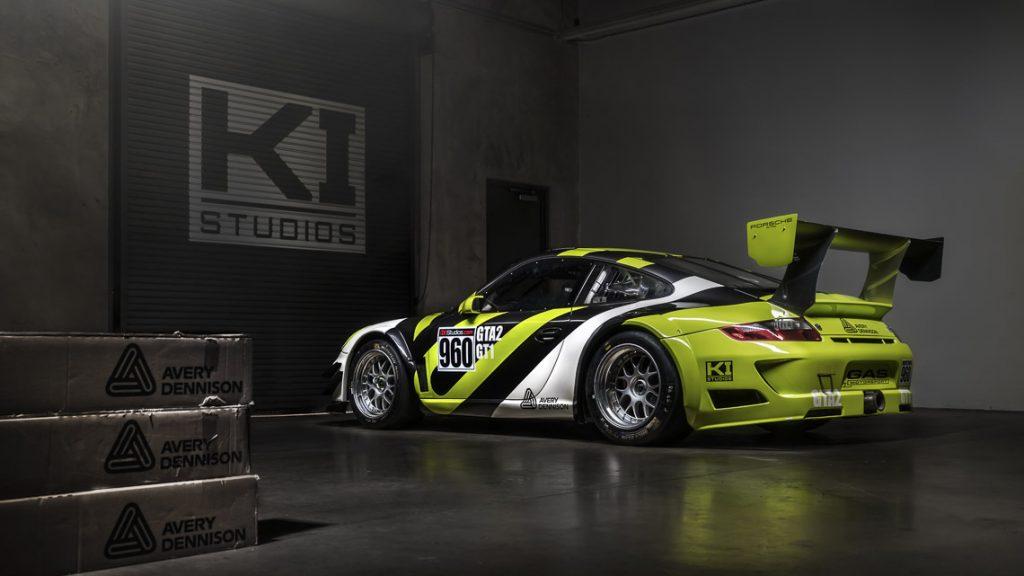 Avery Dennison Porsche 997 GT3 Cup Car - KI Studios