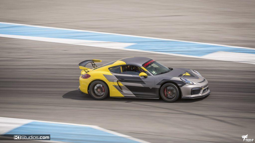 Layered Wrap Porsche Cayman GT4 Vorsteiner