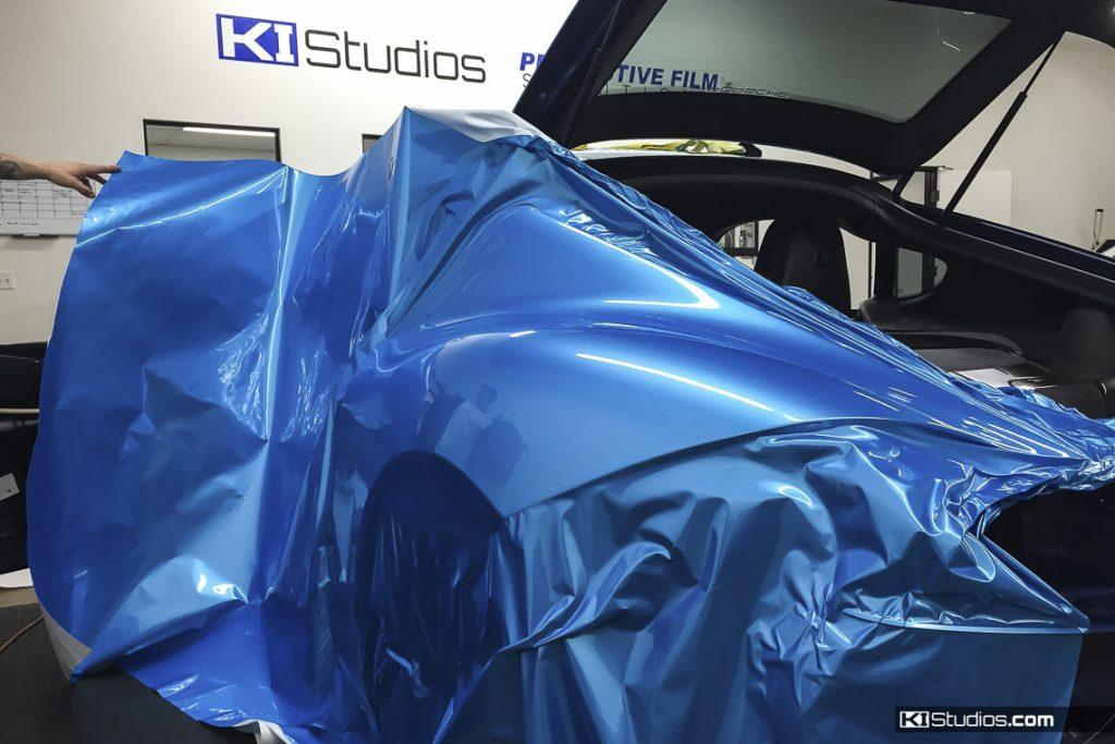 Paint Wrap Blue - KI Studios Porsche Cayman S