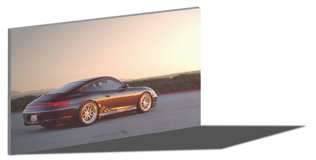 Porsche Photo Canvas - Rebel Rook 911