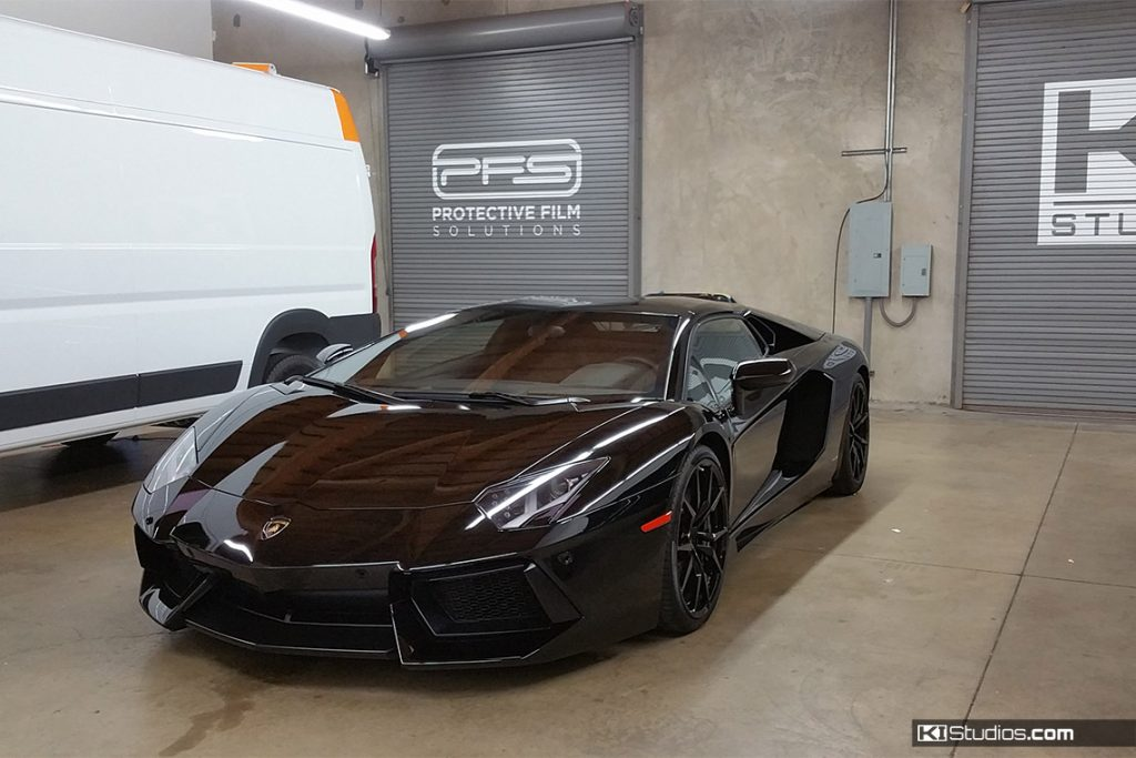 Xpel Lamborghini Aventador Protected