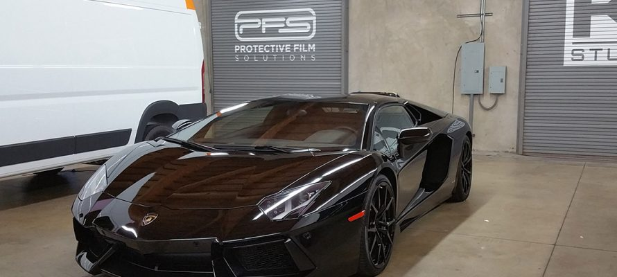 Xpel Paint Protection Film Saves Lambo from Repaint