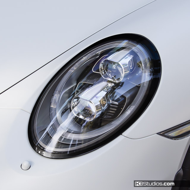 Porsche 991 Headlight Trim