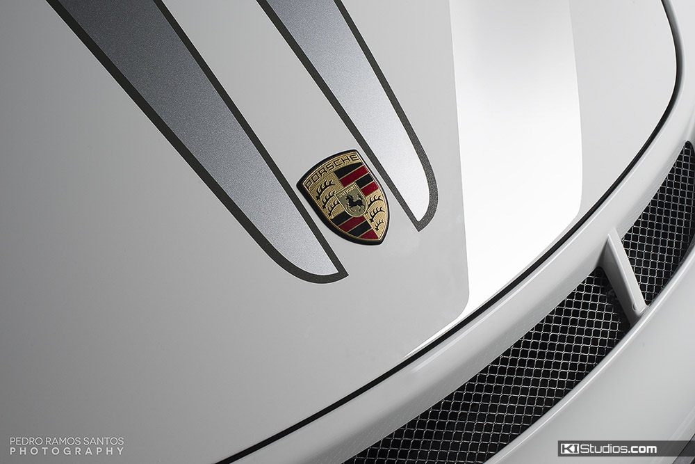 Close Up 911 GT3 Stripes