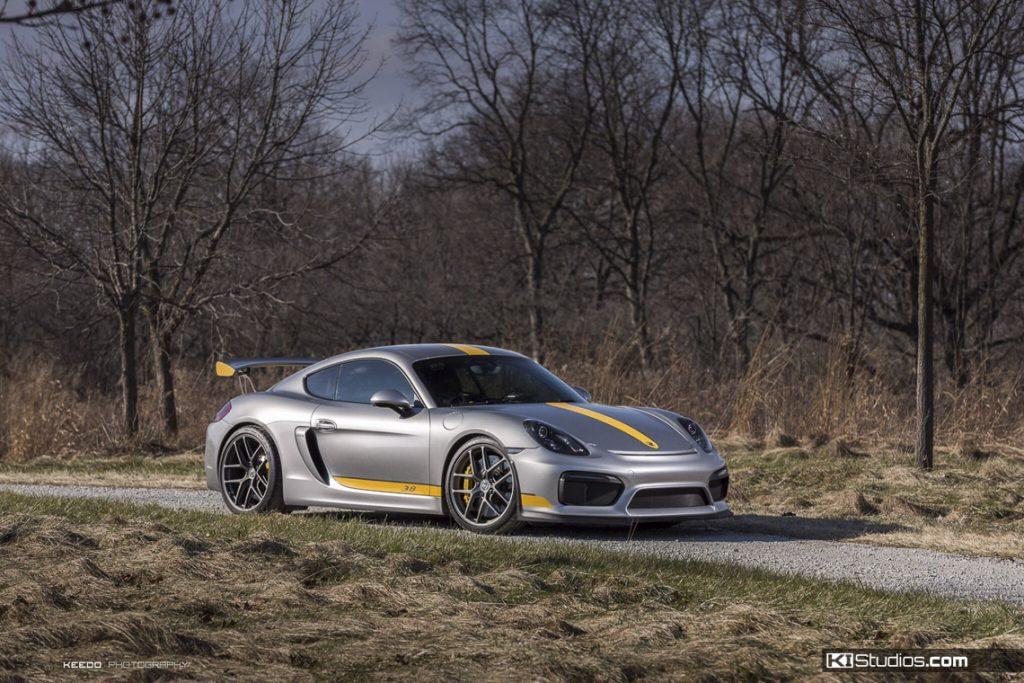 KI Studios Photo Contest Winner - Porsche Cayman GT4.