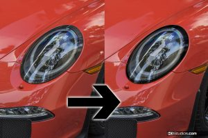 KI Studios Porsche 991 GT3/GT3 RS Headlight Trim