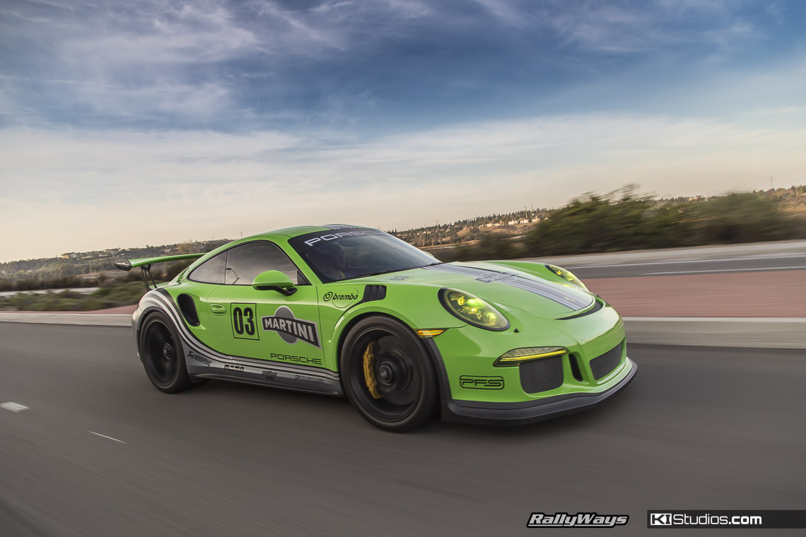 green martini porsche 991 gt3 rs ki studios. Black Bedroom Furniture Sets. Home Design Ideas