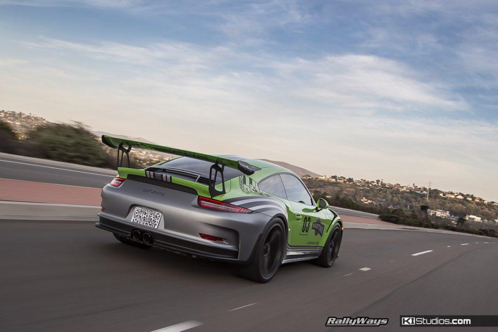 Rolling Photo Porsche 911 GT3 RS - KI Studios