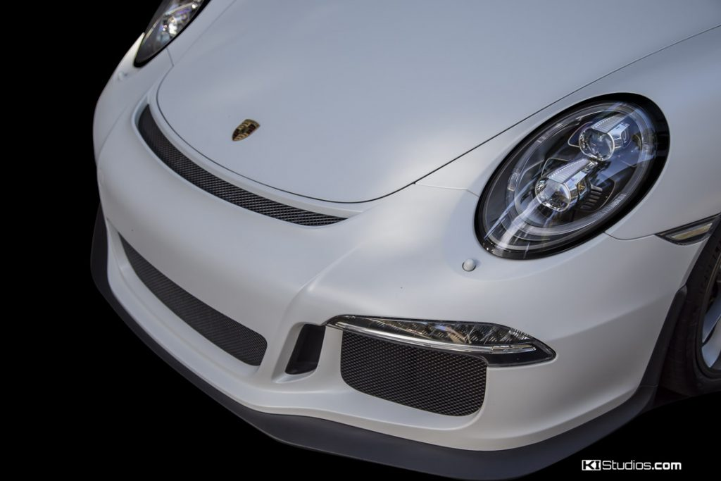 Porsche 991 GT3 RS Blackout Headlight Surrounds